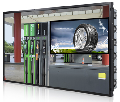 Large format displays available in TEMPEST