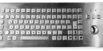 Modulus Rugged Desktop Keyboard with Trackball KMK-PC-F2(DESK)
