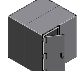TEMPEST Modular Faraday Cage